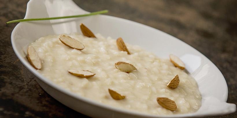 Creamy Carnaroli rice with Taleggio DOP raw milk cheese